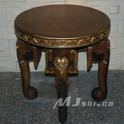 INPHIC-東南亞泰國風格 進口實木大象傢俱 四象椅子