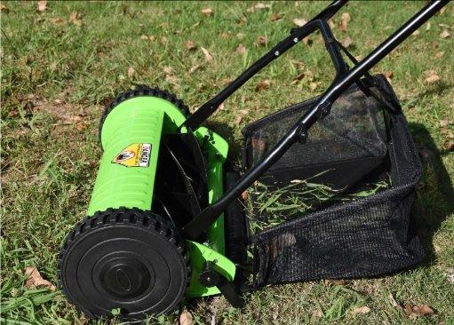 12寸:16寸免動力無引擎卷筒剪草機手推式割草機 草坪機(有現貨)