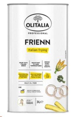 附發票 義大利 Olitalia 奧利塔高溫專用葵花油 3L  超商限一瓶