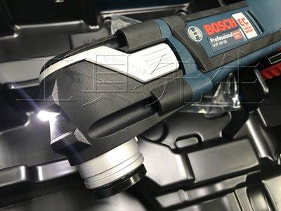 含稅價/大全套 附原廠提箱+6.0電池X2【工具先生】BOSCH GOP18V-28 18v 無刷馬達 充電式 磨切機