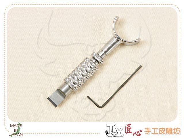 ☆ 匠心 手工皮雕坊 ☆ 日製 Craft 標準式-旋轉雕刻刀組 (C180-1)  /手縫 線雕 線刻 刻字 皮革