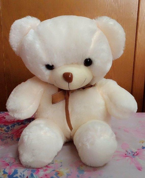 {欣娃小舖}~可愛寶貝熊 絨毛娃娃(高52cm)