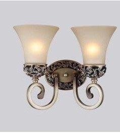 【優上精品】壁燈 燈具歐式古典樹脂玻璃...