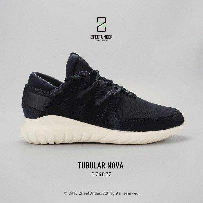 2FeetUnder - Adidas Tubular NOVA 黑色 麂皮 奶油底 S74822