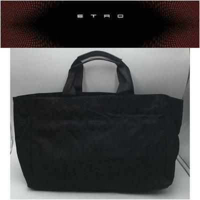 【皮老闆二店】 二手真品 ETRO 包包 手提包 托特包 O208