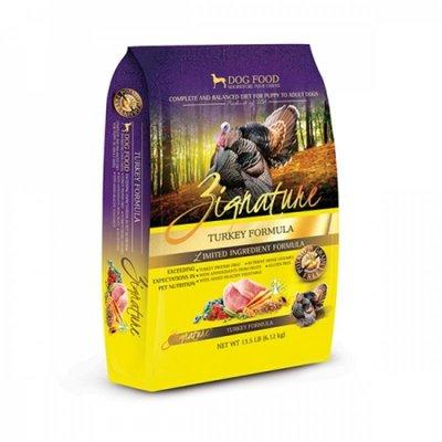 Zignature 無穀物(火雞肉)全犬種配方 (Turkey Formula) 27磅 - 狗餅物語