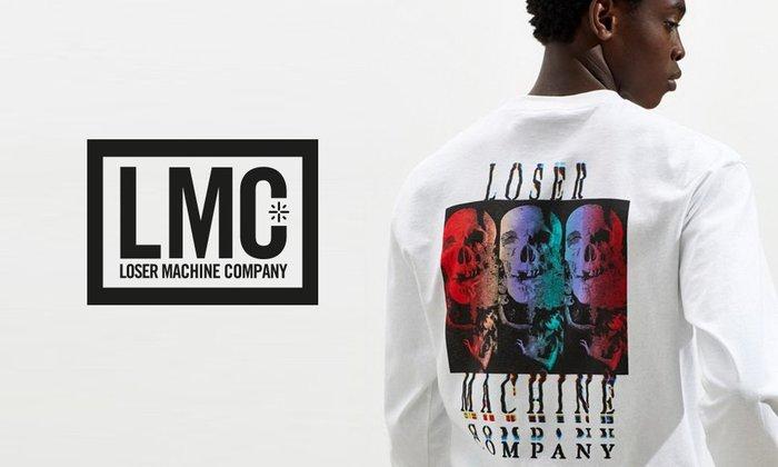 GOODFORIT / 美國Loser Machine Color Code骷髏剪影概念長袖上衣/兩色