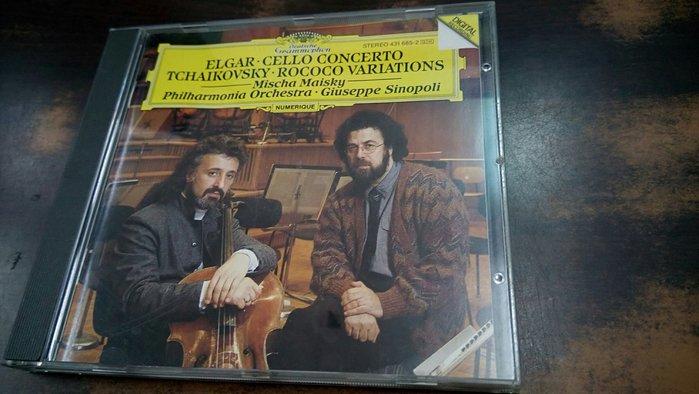 好音悅 全銀圈 Maisky 麥斯基 艾爾加 大提琴協奏曲 柴可夫斯基 洛可可變奏曲 DG 德PMDC01版 無IFPI