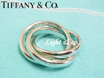 【Light & co.】專櫃真品已送洗 Tiffany & Co 925純銀 三環 三圈 戒指 經典款