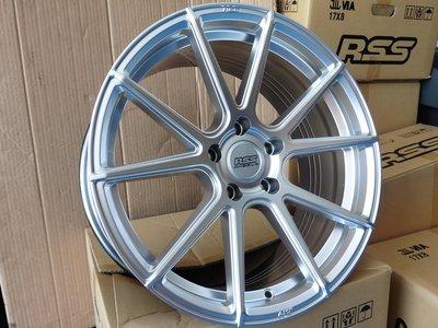 17吋(VF)RSS旋壓鋁圈+17吋輪胎~適用:MAZDA5.FOCUS.CARENS(完工價)非VORSTEINER