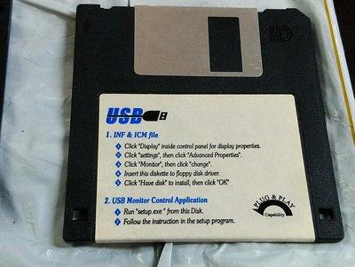 "[20Juf]早期3-1/2""硬式磁碟片/USB 驅動程式/"