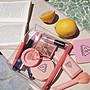 韓國免稅店購入?  3CE  透明防水梯形化妝包 黑|粉色