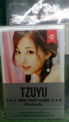 TWICE 周子瑜 迷你明信片 全新