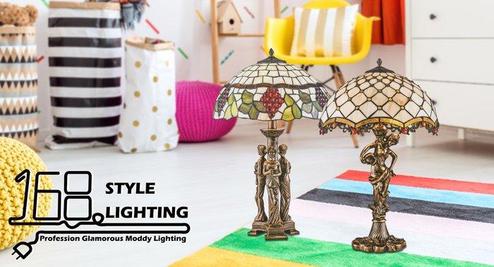 【168 Lighting】古典藝術《第凡內桌燈》(兩款)GI 71502-1