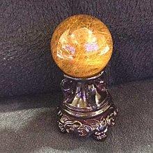超5A金髮晶球擺件(直徑42-47mm)財源滾滾,招財進寶,聚集財富👍👍👍