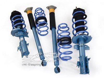 阿宏改裝部品 2014- FIESTA KYB NEW SR 藍桶 避震器 + TS 短彈簧 總成件 可刷卡