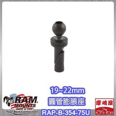 。摩崎屋。Ram Mounts - 圓管膨脹座 RAP-B-354-75U,CBR500R/650F