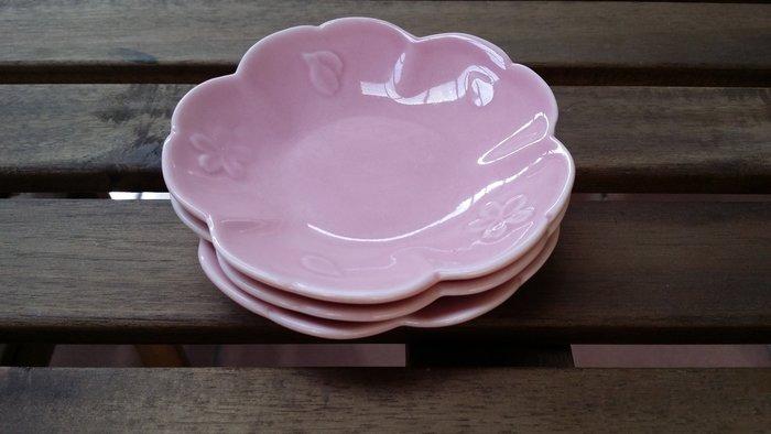 【愛麗絲生活家飾雜貨】zakka日式櫻花陶瓷點心盤/零食盤/水果盤/下午茶點心盤