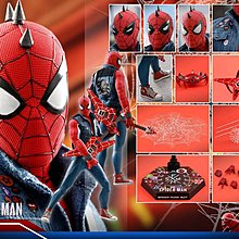 Hottoys Hot Toys VGM32 Marvel's Spider-Man 1/6 Spiderman Spider Punk Suit