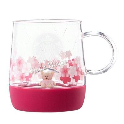 Starbucks Korea 2019 Cherry Blossom LED Figure Glass 355ml 星巴克韓國櫻花玻璃杯