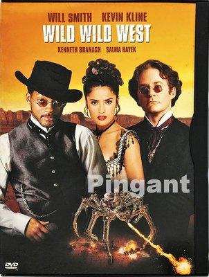 [Pingant] 飆風戰警 Wild Wild West 1999.DVD.威爾史密斯.凱文克萊.莎瑪海耶克