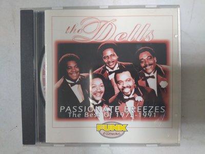 昀嫣音樂(CDa58)  The Dells PASSIONATE BREEZES 德國壓片 寶麗金 保存如圖 售出不退