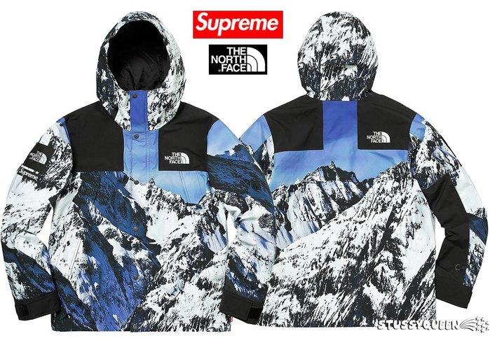 【超搶手】現貨2017 Supreme The North Face Mountain Parka TNF雪山風衣沖鋒衣