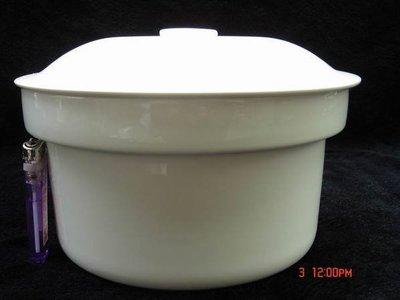 東昇瓷器餐具=大同強化瓷器8吋附蓋燉盅 P1884PL