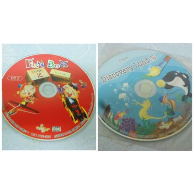【彩虹小館】兒童CD~FUN BOX BOOK 2(CD2)+FUN BOX Discovery Land 3~凱撒琳