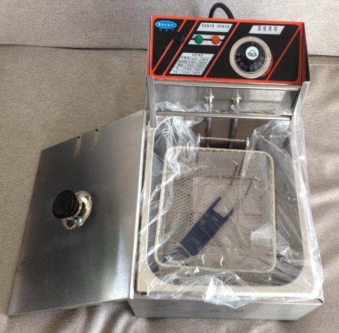 桃園國際二手貨中心-----全新品   STORY MP-8L 臺式單缸油炸爐 油炸機 油炸鍋