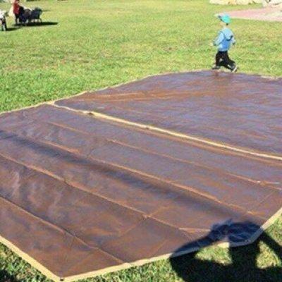 CM1415寢區  **耐磨防水地墊訂製 BY LOWDEN(咖啡色,可超取)