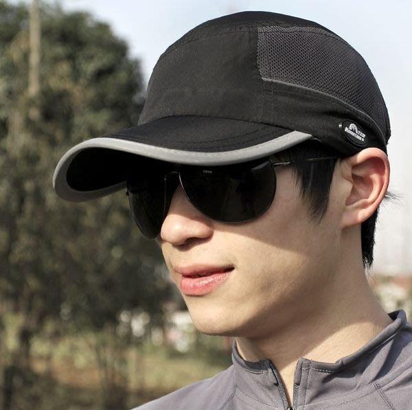 又敗家~山行晚上反光帽反光鴨舌帽 透氣帽防紫外線帽UPF40 棒球帽 休閒帽遮陽防曬帽類螢