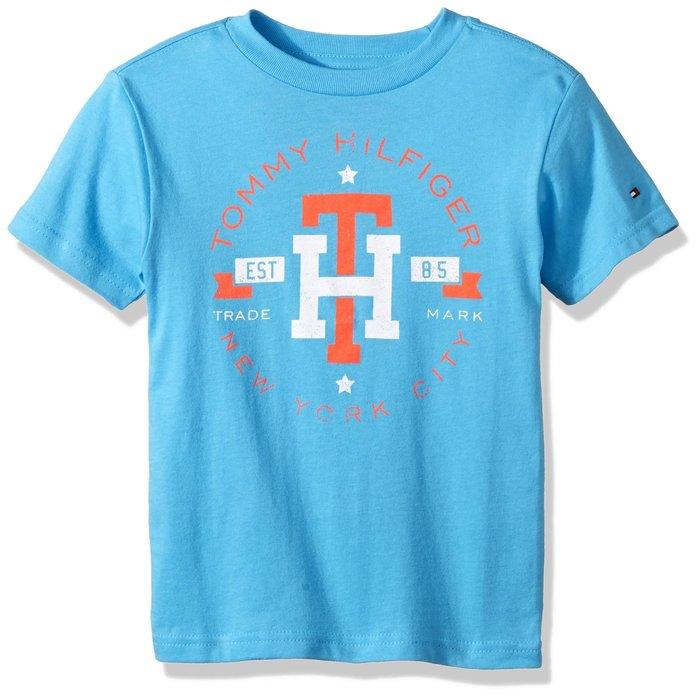 T☆【TOMMY館】☆【TOMMY HILFIGER短袖T恤】☆【TOM001N4】KIDS/青年版(L)原價899