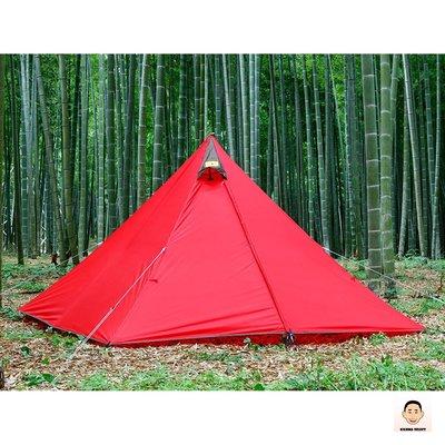非現貨【KOJIMA嚴選】日本 tent-Mark Panda red 單人帳篷 帳篷 露營 戶外