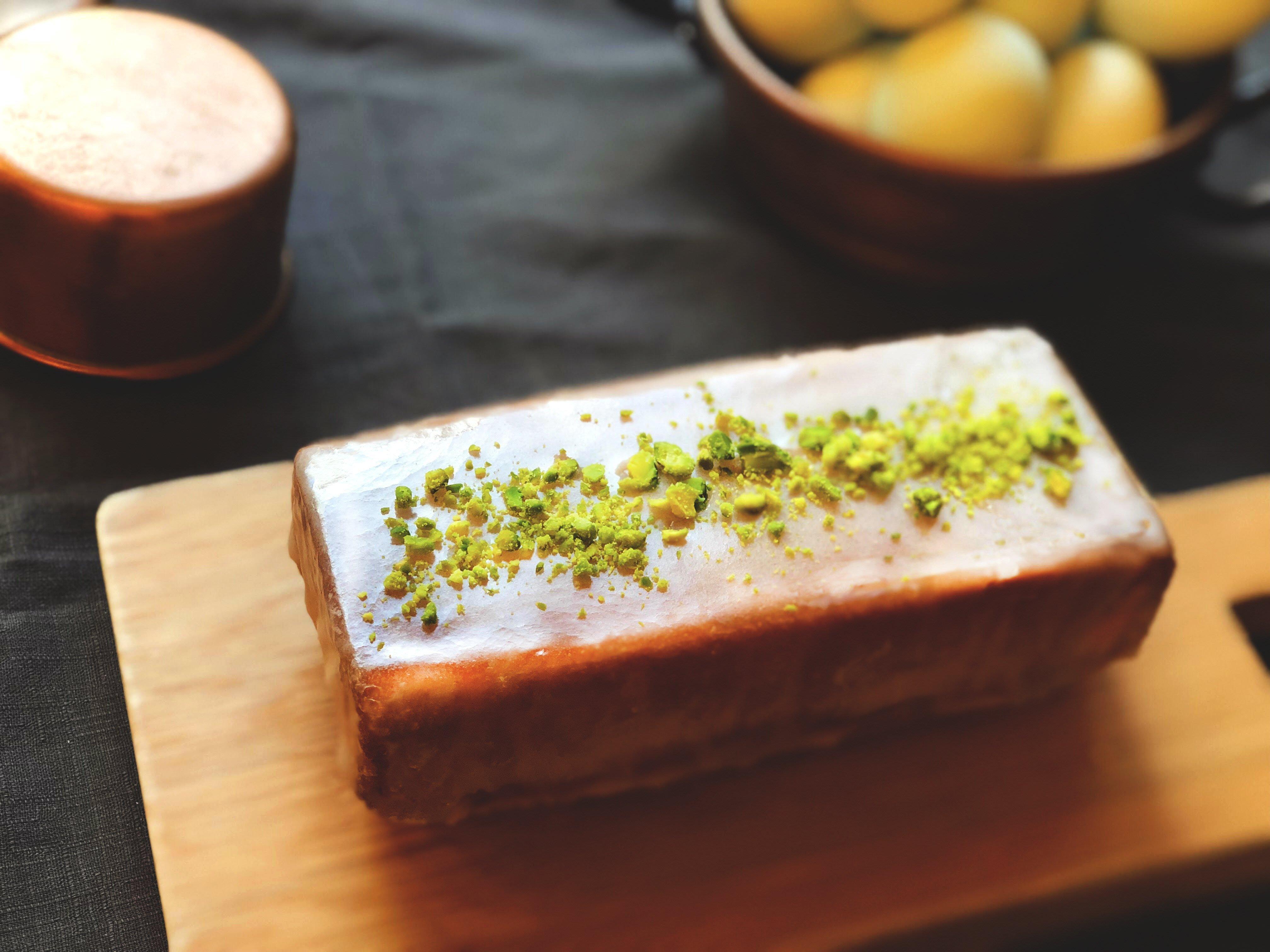 檸檬開心果週末蛋糕 Lemon Pistachio Cake