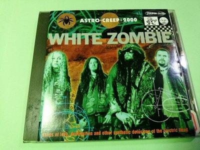 經典【原版CD】White Zombie白殭屍合唱團2000年太空漫遊Astro Creep: 2000