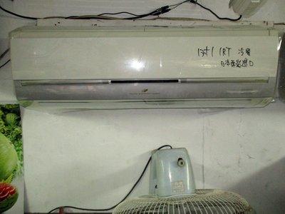 日立HITACHI日本原裝1對1冷暖變頻1噸(10000BTU)110V~9成新~