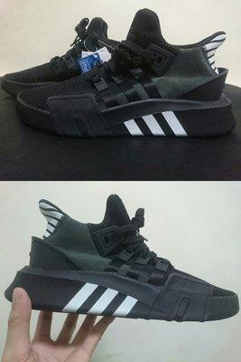 【100%正品現貨】原廠Adidas EQT Bask ADV全黑白CQ2991網布編織PK針織 男女慢跑鞋 非BOOST NMD R1老爹鞋 余文樂