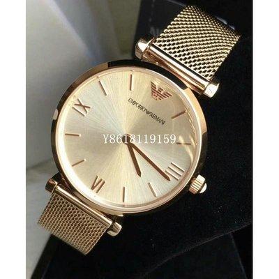 ARMANI AR1956亞曼尼女裝系列 石英 銀色錶盤 (女士手錶)/ 正品 台北市