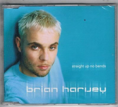 [鑫隆音樂]西洋單曲-brian haruey / straight up no bends {0128115ERE}全新
