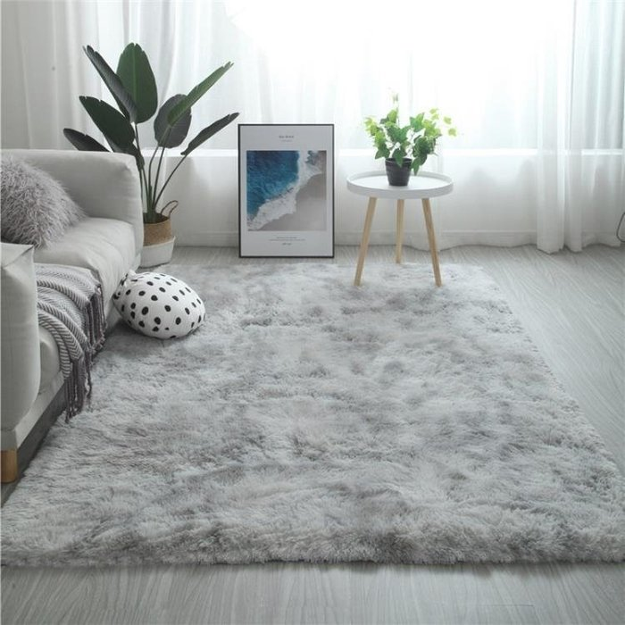 地毯客廳茶幾臥室滿鋪可愛網紅同款床邊毛毯地墊子大面積  柳風向