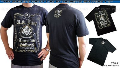 【ARMYGO】美國 7.62 軍事T恤 - 陸軍系列 -ARMY 'FIGHTING SPIRIT'