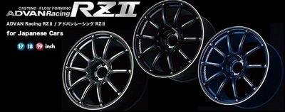 =1號倉庫= ADVAN Racing RZⅡ 鋁圈 鋼圈 15×6.0J 4x100
