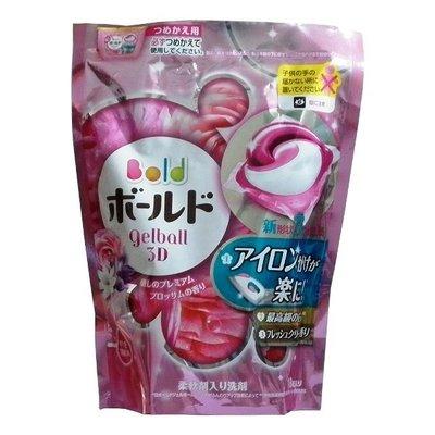 日本P&G洗衣膠球補充包BOLD粉紅花香18顆 新北市