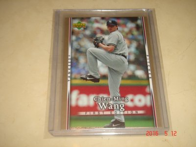 旅美球員 Yankees 王建民 2007 Upper Deck First Edition #123 球員卡