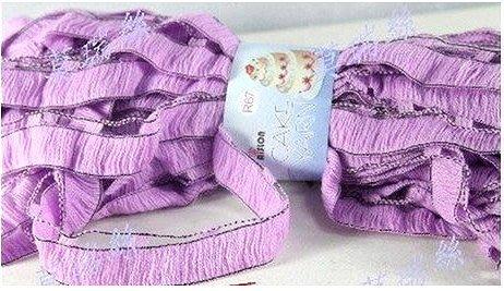 莫瑞絲 愛絲龍~蛋糕紗 波浪線  毛線 玩偶娃娃 毛衣  包裝 圍巾DIY