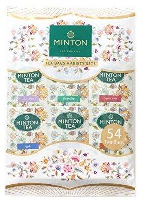 日本MINTON明頓茶包 總匯包(54袋)  享有6種風味: 大吉嶺、伯爵、皇家奶茶、經典紅茶、蘋果茶、蘋果紅茶