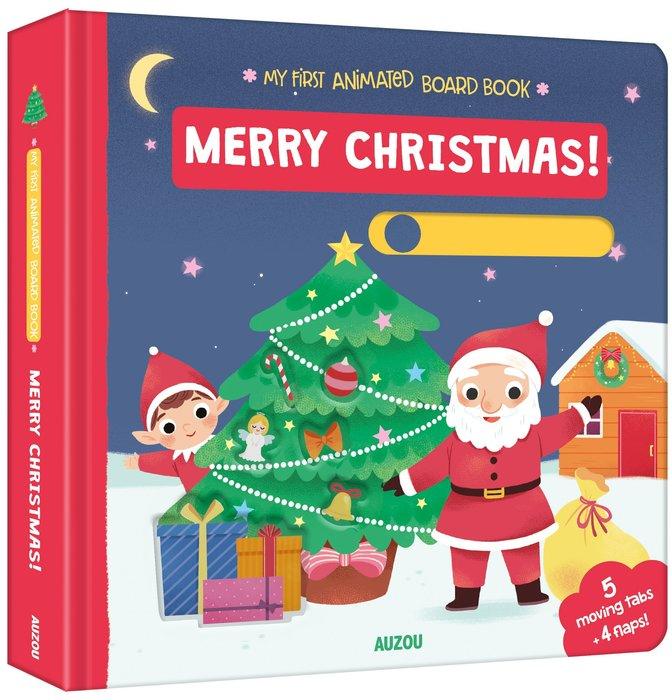 *小貝比的家*MY FIRST ANIMATED: MERRY CHRISTMAS /精裝/3~6歲/聖誕節
