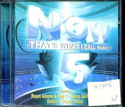 *真音樂* NOW THAT'S WHAT I CALL MUSIC 5V二手 K13546