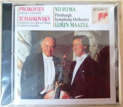 普羅可菲夫 Prokofiev: Sinfonia Concertante  Yo-Yo Ma